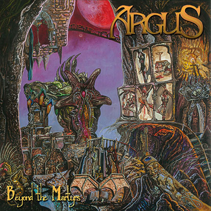Argus 'Beyond The Martyrs' Artwork