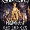 Xibalba / Hierophant @ Classic Grand, Glasgow 02/10/2013