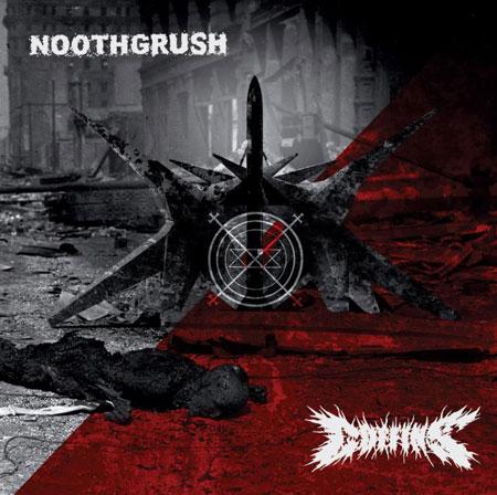 Noothgrush/Coffins - Split - Artwork