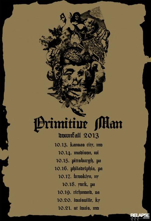 Primitive Man - US Tour Fall 2013