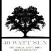 Roadburn 2014 - 40 Watt Sun