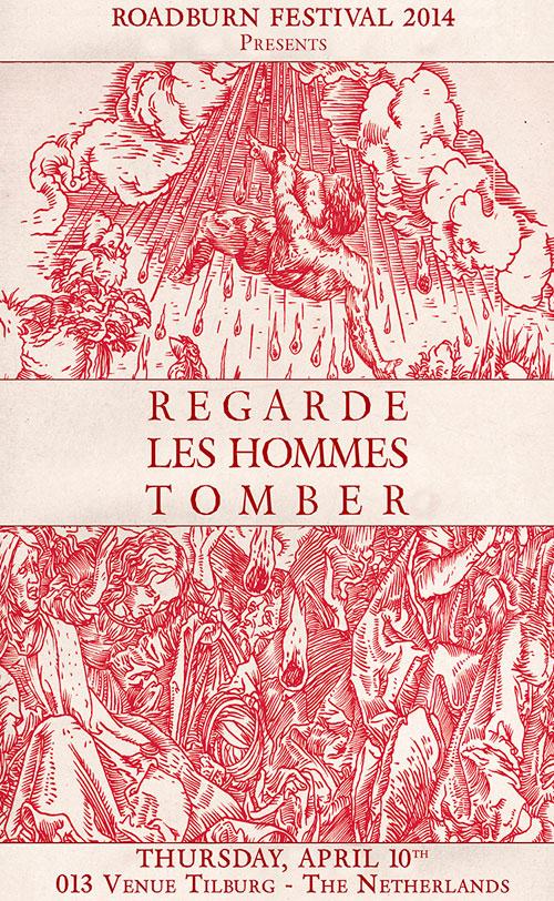 Roadburn 2014 - Regarde Les Hommes Tomber