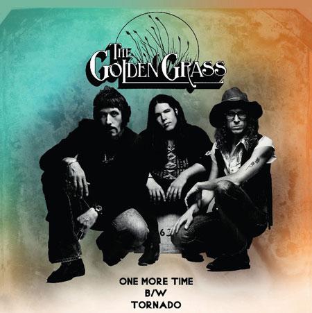 The Golden Grass 'One More Time / Tornado' Artwork