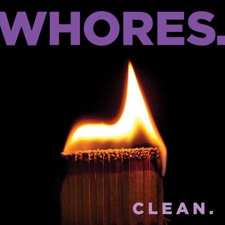 Whores 'Clean' Artwork