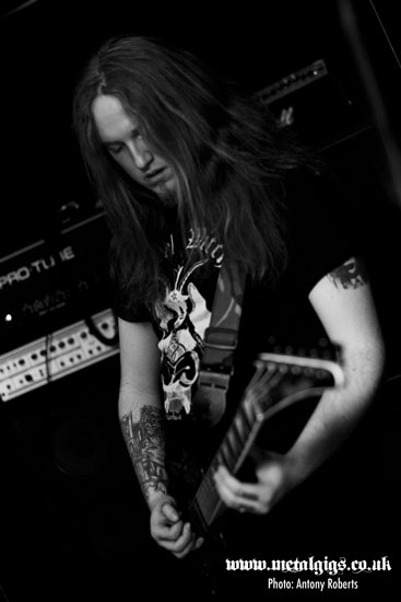 Crypt Lurker @ The Black Heart, London 24/11/2013 - Photo by Antony Roberts