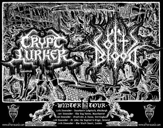 Coltsblood / Crypt Lurker - UK Tour 2013