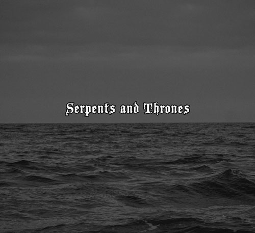 Ortega / Of Spire & Throne 'Serpents And Thrones' Split Artwork