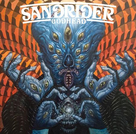 Sandrider 'Godhead' Artwork