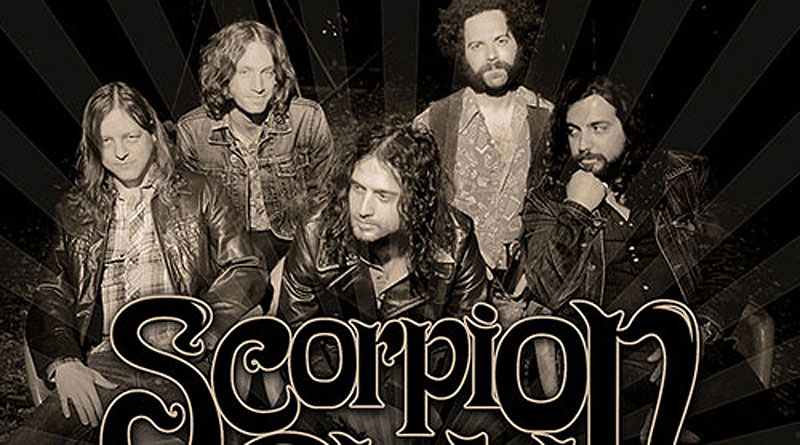 Scorpion Child UK Tour 2013
