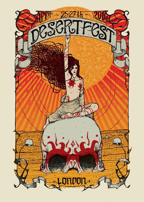 Desertfest London 2014 by Malleus