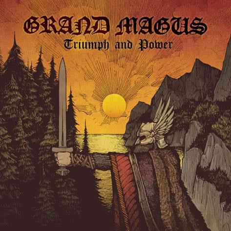 Grand Magus 'Triumph And Power' Artwork