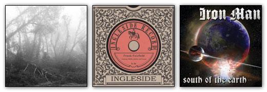 Eidetic Seeing / Frank Fairfield / Iron Man - Album Artwork