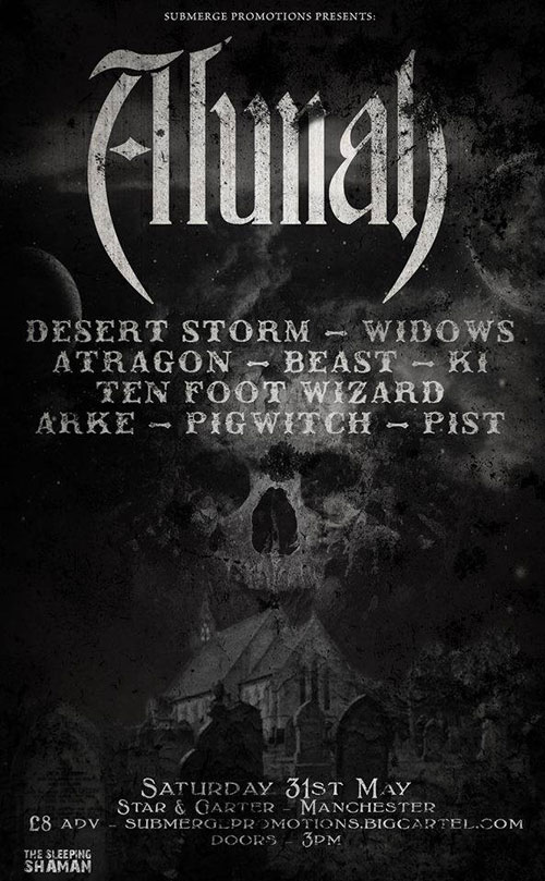 Submerge Promotions All Dayer with Alunah 31/05/2014