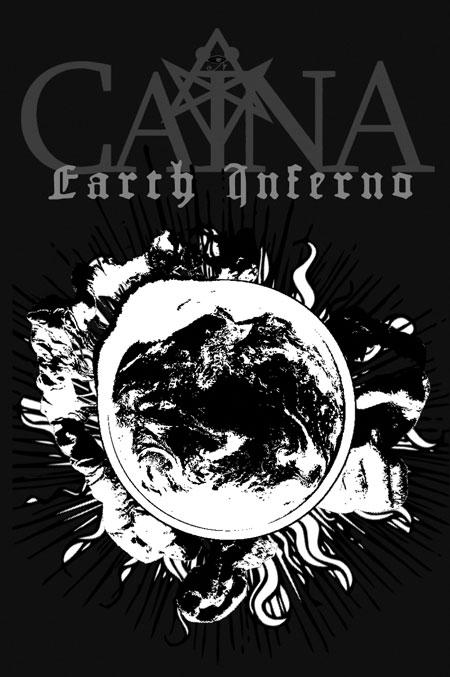 Caïna 'Earth Inferno' Artwork