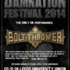 Damnation Festival 2014 - Bolt Thrower