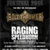 Damnation 2014 - Bolt Thrower & Raging Speedhorn
