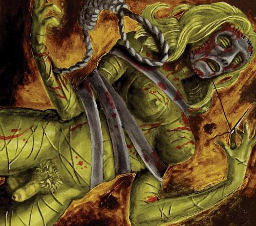Lord Mantis 'Death Mask' Artwork