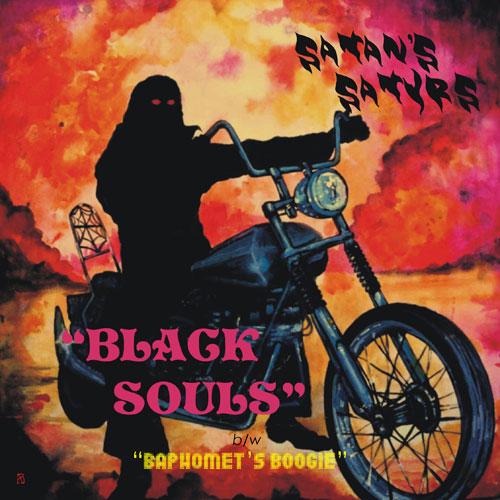 Satan's Satyrs 'Black Souls' Artwork