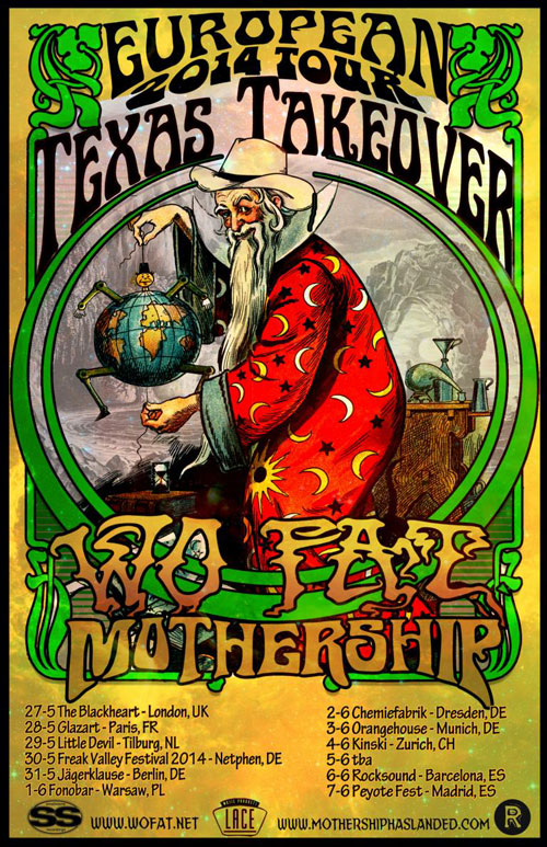 Wo Fat / Mothership - Euro Tour 2014