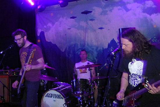 Red Fang @ Institute Temple, Birmingham 20/03/2014 - Photo by Paul Butcher