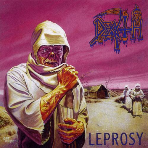 Death 'Leprosy' Artwork