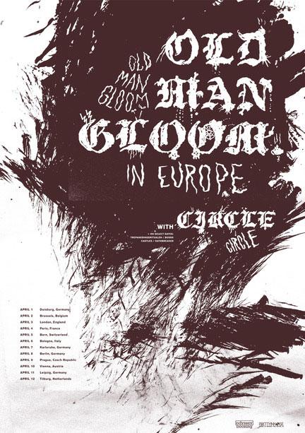 Old Man Gloom - Euro Tour 2014