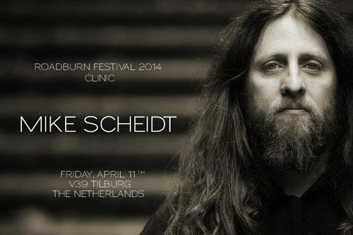 Roadburn 2014 - Clinic with Mike-Scheidt