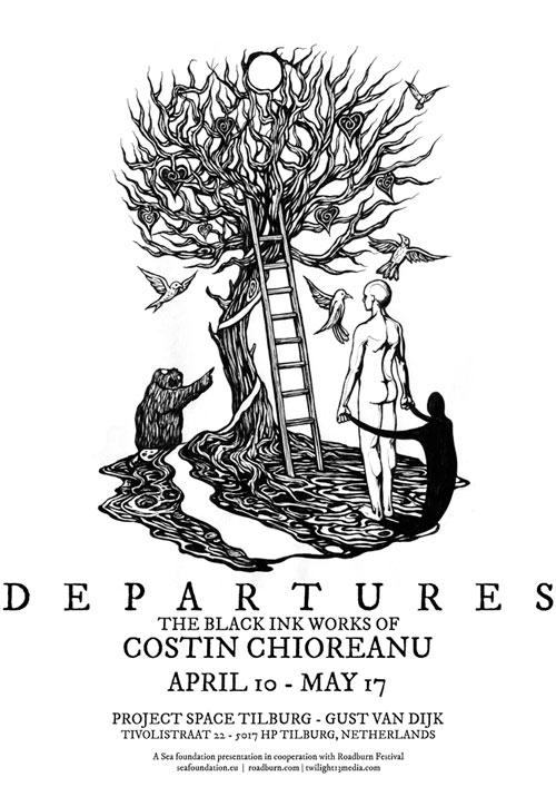 Roadburn 2014 - The Black Ink Works Of Costin Chioreanu