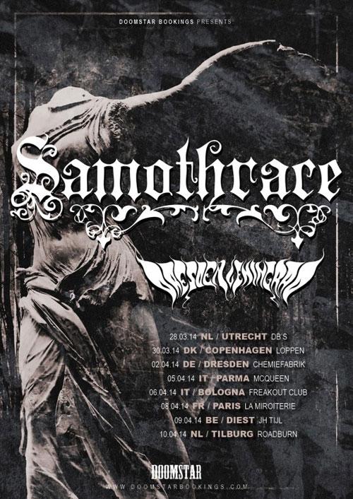 Samothrace - Euro Tour 2014