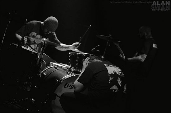 Voe @ Audio, Glasgow 23/04/2014 - Photo by Alan Swan