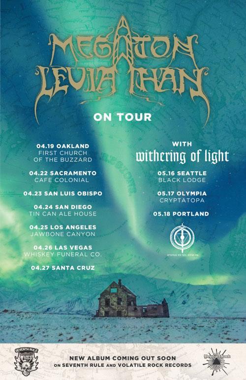 Megaton Leviathan - US Tour 2014