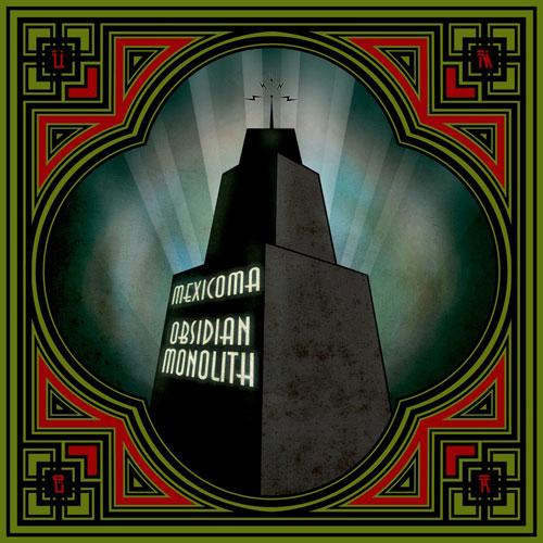Mexicoma 'Obsidian Monolith' Artwork