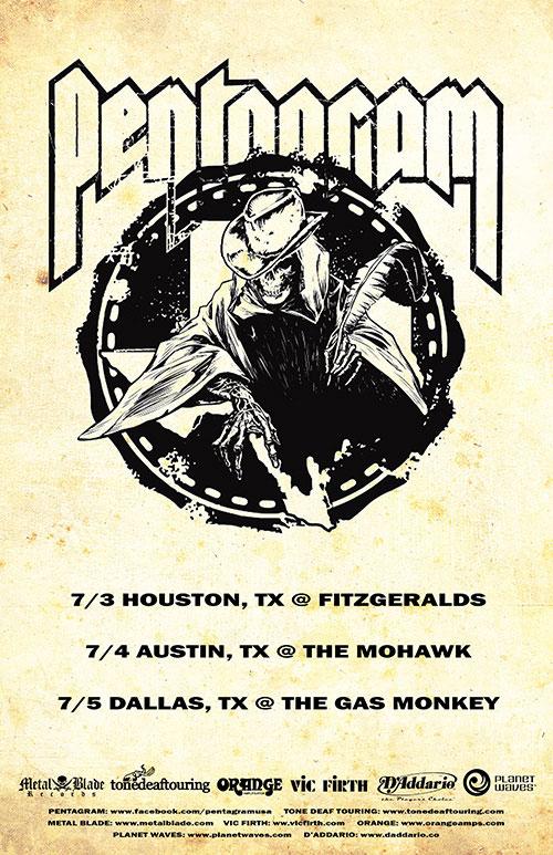 Pentagram - Texas Tour 2014