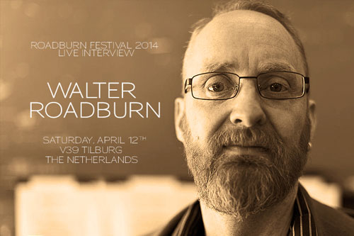 Roadburn 2014 Clinic - Live Interview with Walter Hoeijmakers