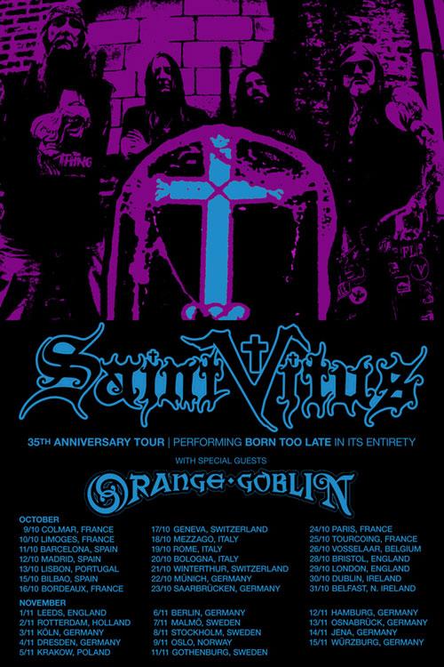 Saint Vitus / Orange Goblin - Euro Tour 2014