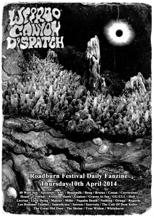 Weirdo Canyon Dispatch - Thursday 10th April