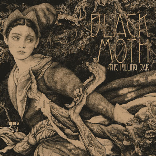 Black Moth 'The Killing Jar' Artwork