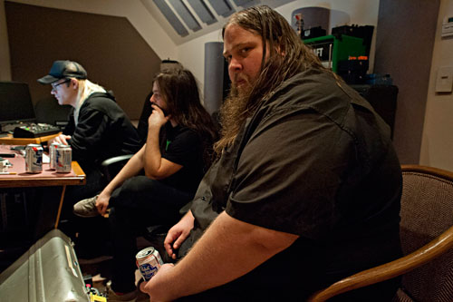 Lord Dying in the Studio - Photo by James Rexroad