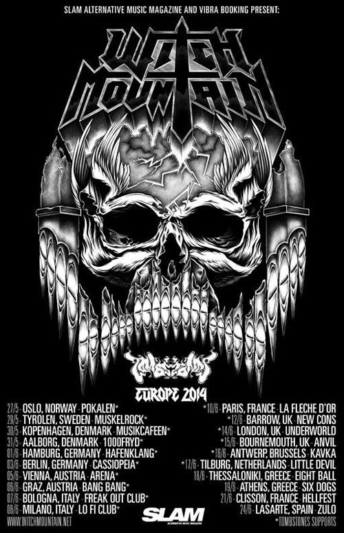 Witch Mountain - Euro Tour 2014