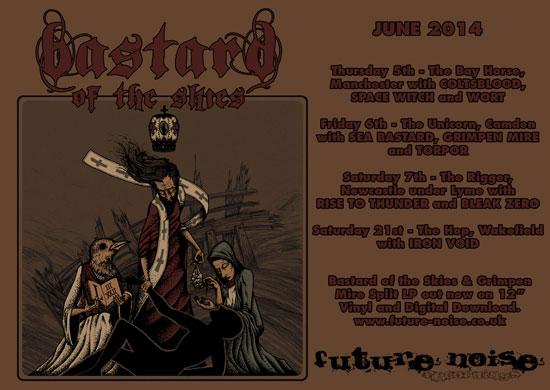 Bastard Of The Skies - UK Tour June 2014
