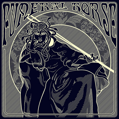 Funeral Horse 'Sinister Rites Of The Master' Artwork
