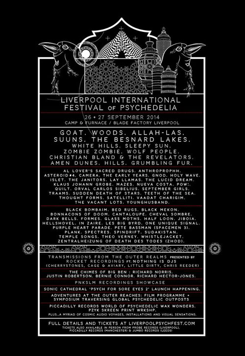 Liverpool Psych Fest 2014