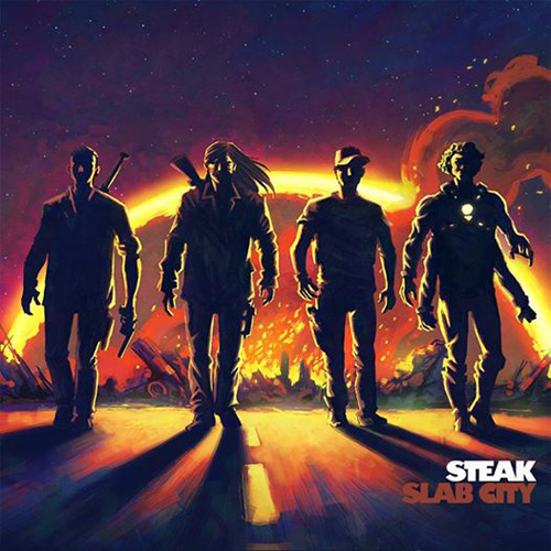 Steak 'Slab City' Artwork