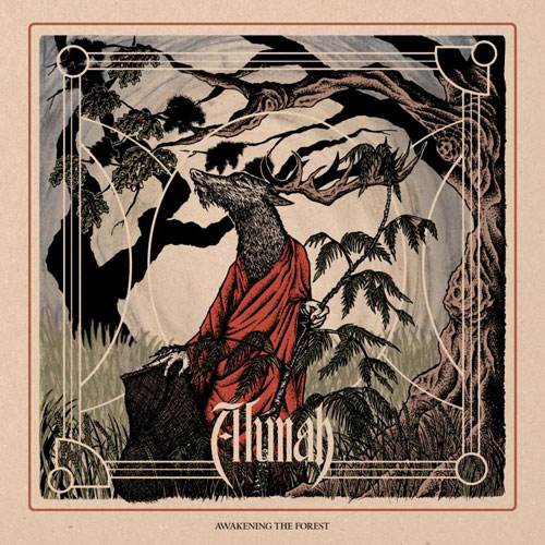 Alunah 'Awakening The Forest' Artwork