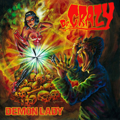 Dr Crazy 'Demon Lady' Artwork
