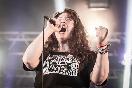 Hellfest 2014 - Witch Mountain - Photo by Vivien Varga