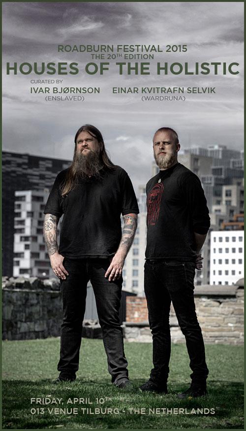 Roadburn 2015 - Ivar Bjørnson & Einar Kvitrafn Selvik