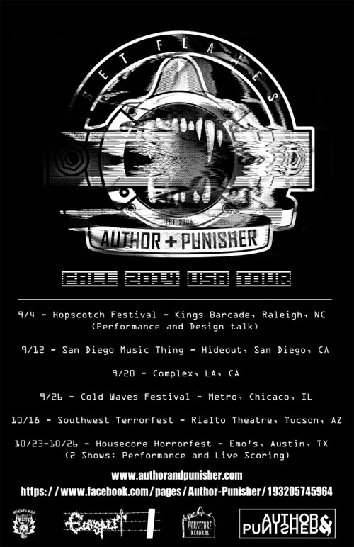 Author & Punisher - Fall US Tour 2014