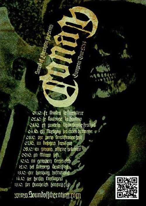 Conan - Euro Tour Autumn 2014