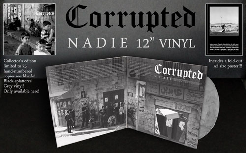 Corrupted 'Nadie' Reissue - Throne Records
